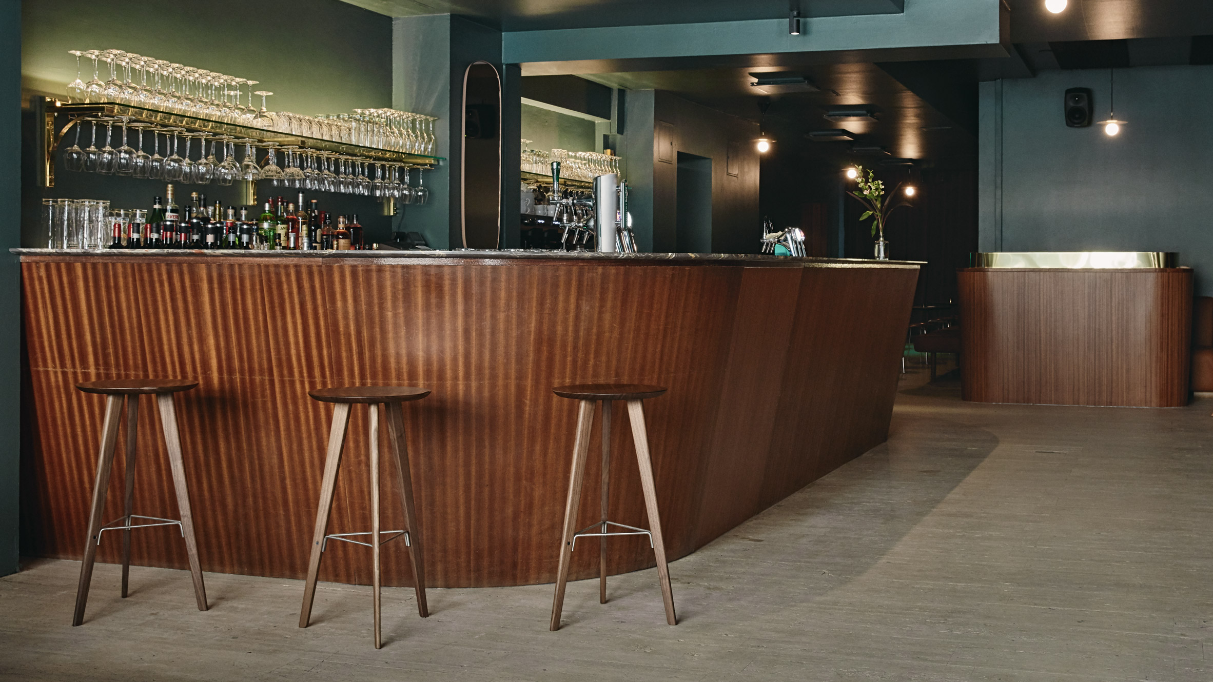 A Helsinki Retro Bar with 1960 Design Influences – Bar Stools Furniture