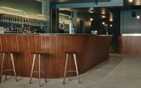 A Helsinki Retro Bar with 1960 Design Influences