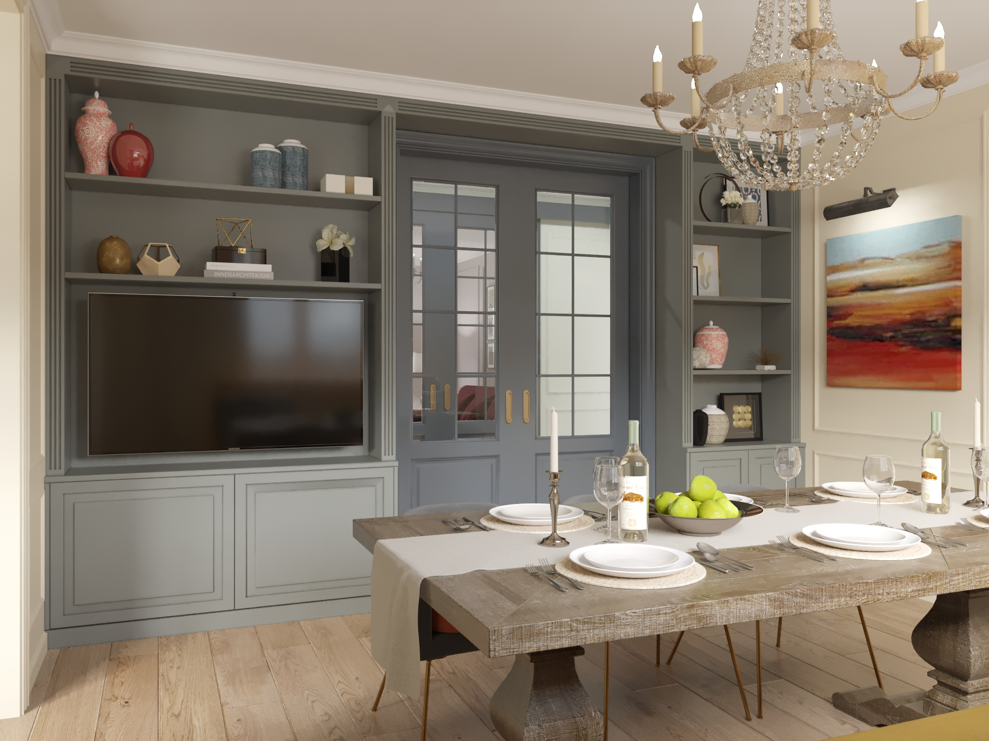 A dining room design that will win your design lover side bar stools furniture - Reasons why you need stacking chairs ...
