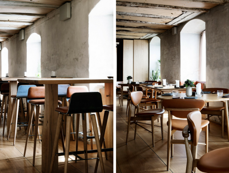 A Nordic-Inspired Copenhagen Restaurant Boasts Mid-Century Furniture!