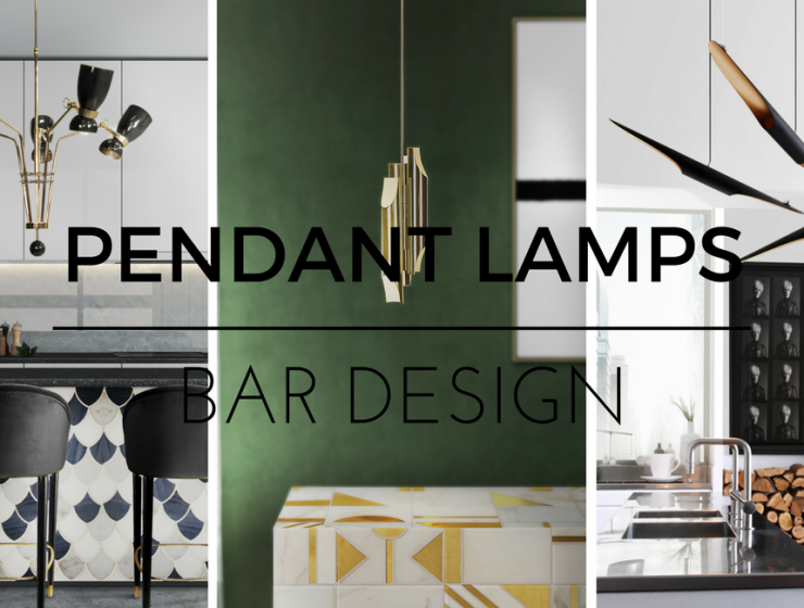Learn How to Light Up Your Bar with These Mid-Century Pendant Lamps