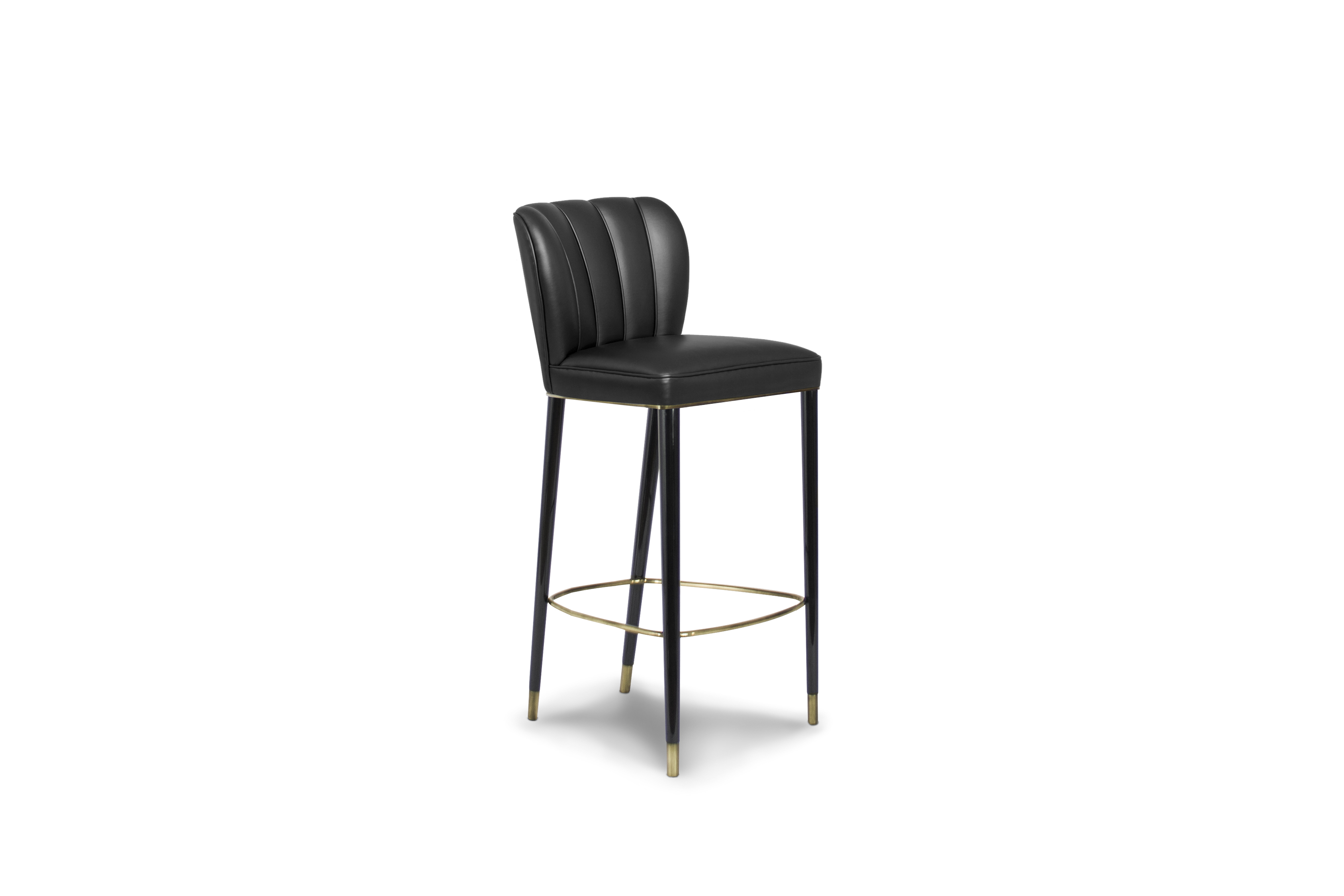 Plan a Stylish and Spooky Halloween with these Black Bar Stools