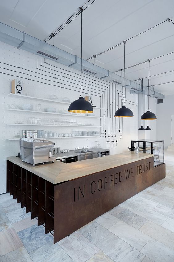 Time to Get to Know the Best Coffee Bar & Restaurant Design Ideas