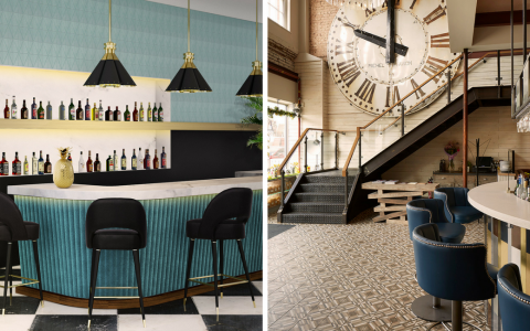 Upholstered Bar Chairs & How to Usem Them in a Luxury Interior