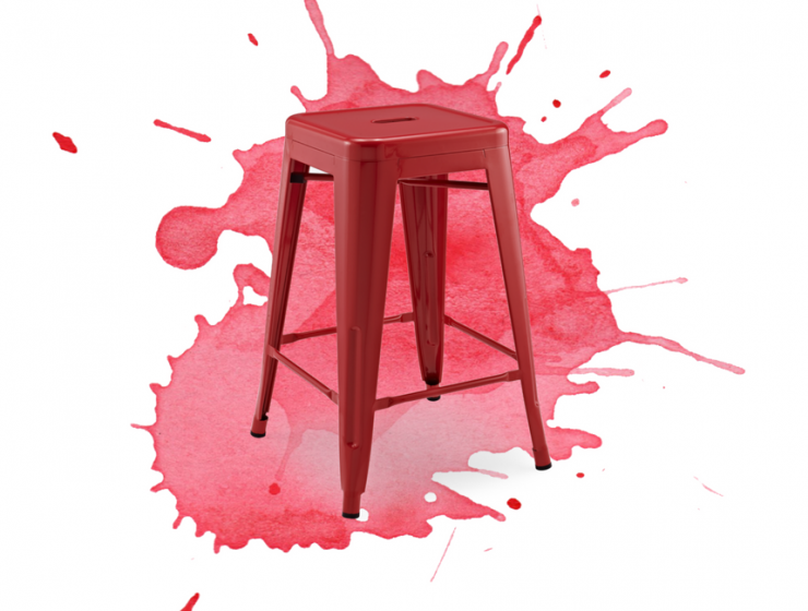 Red Bar Stools- Why Aren't You Using Them in Your Home Bar?_1