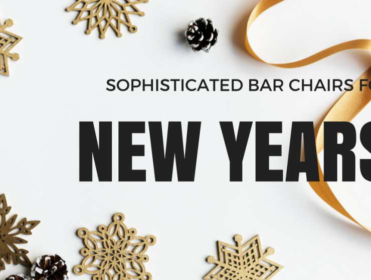 The Most Sophisticated Bar Chairs for Your New Years Cocktail Party_feat