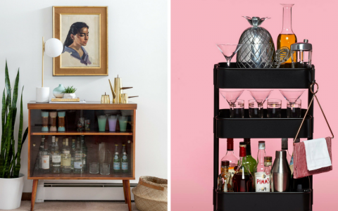 We'll Tell You How to Create a Vintage Bar Decor in Your Home_1