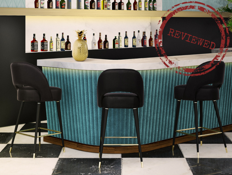 mid century modern bar basement review is collins midcentury modern bar chair the right choice midcentury design stools furniture