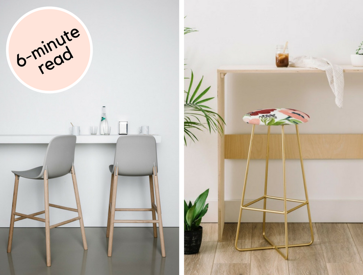 Take 6 Minutes to Understand Why We Love These Modern Bar Chairs_feat