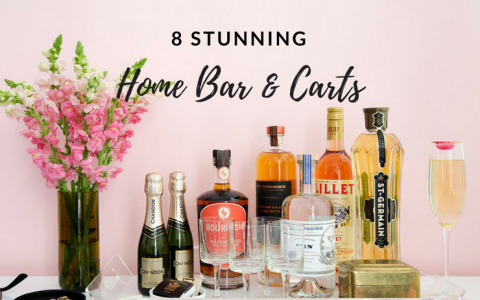 8 Home Bars & Carts That Will Inspire Your Inner Interior Designer_feat2