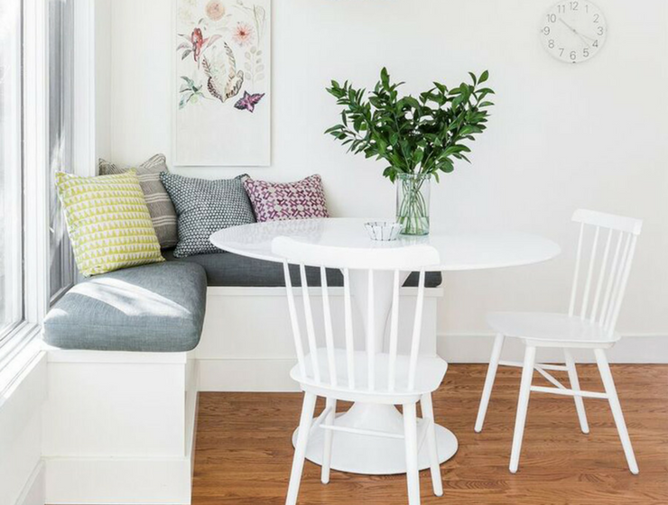 Celebrate Spring W a New Breakfast Nook for Your Kitchen_10