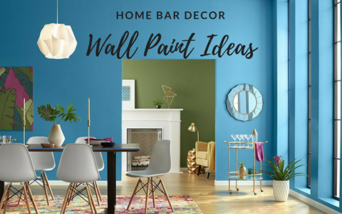 The Wall Painting Colors You Had Never Considered for Your Home Bar