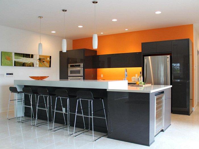 5 Black Kitchen Bar Stools for a Warm Monochromatic Decor