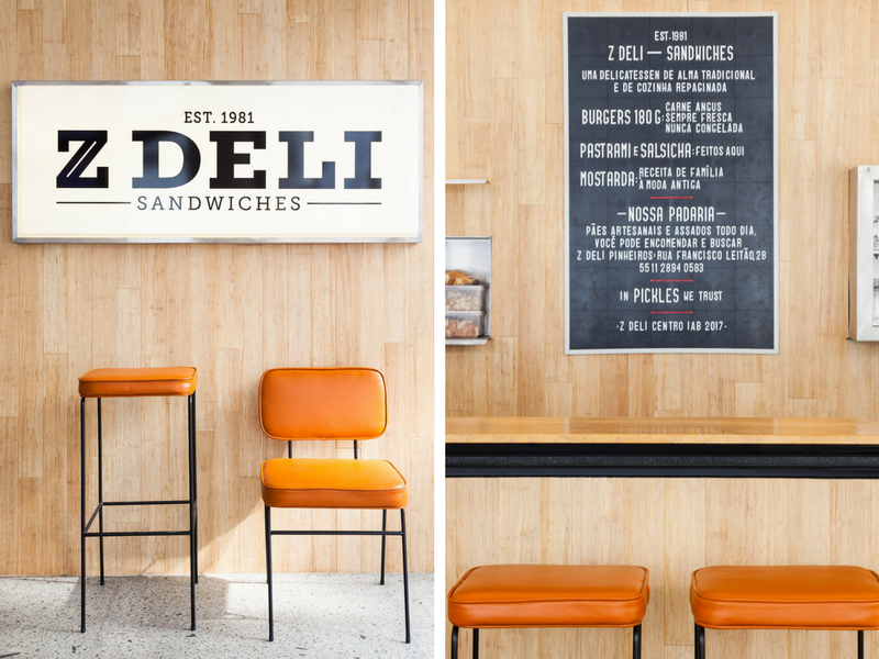 A 50s Diner Influenced this Mid-Century Deli in São Paulo_6