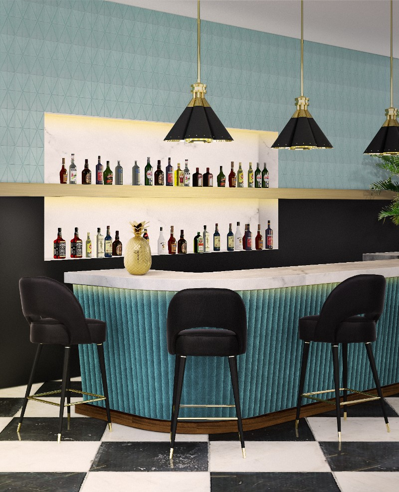 Bar Design Ideas The Best Stool and Counter Combos (2)