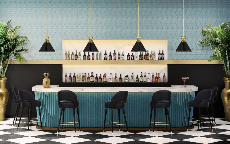 Bar Design Ideas The Best Stool and Counter Combos 7