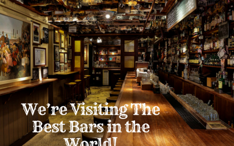 Pack Your Bags, We're Visiting The Best Bars in the World!