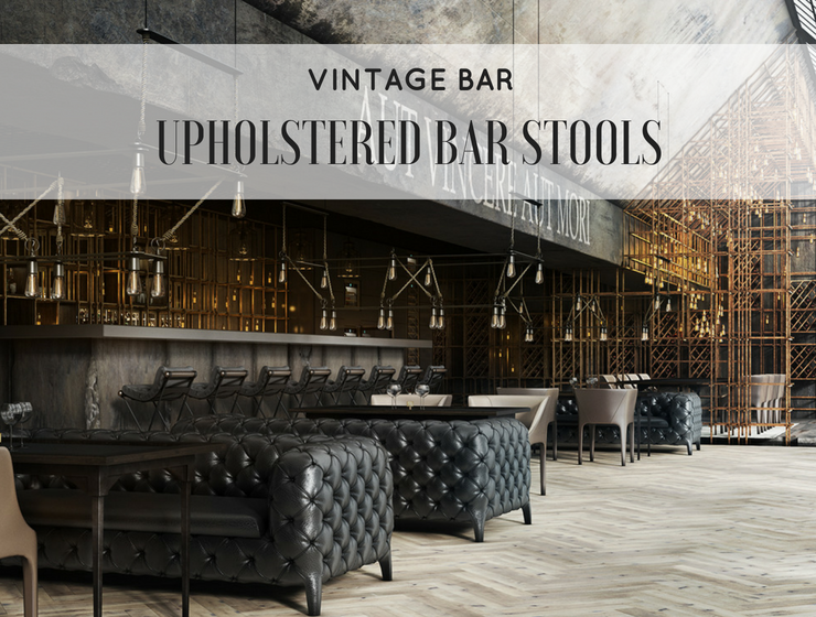 5 Upholstered Bar Stools that are Perfect for a Vintage Bar_feat