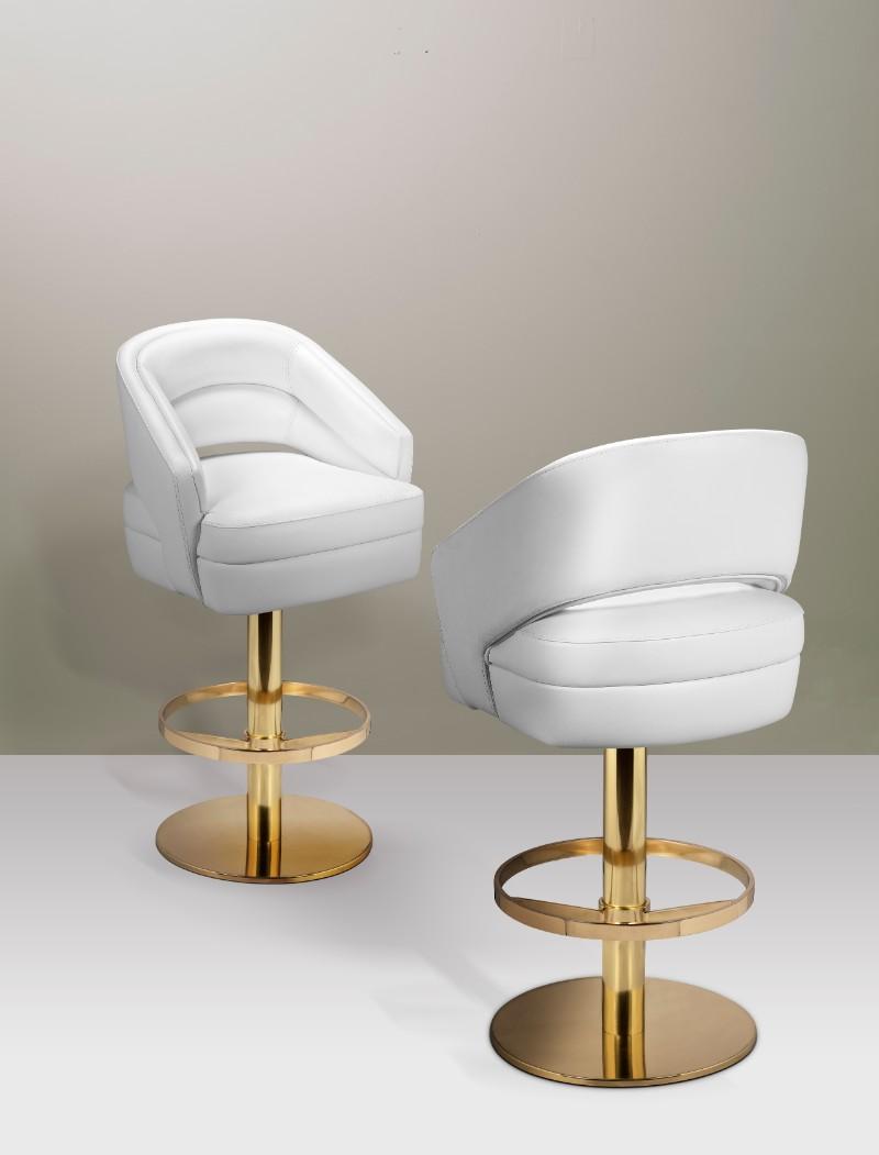 Super 5 Upholstered Bar Stools That Are Perfect For A Vintage Bar Inzonedesignstudio Interior Chair Design Inzonedesignstudiocom