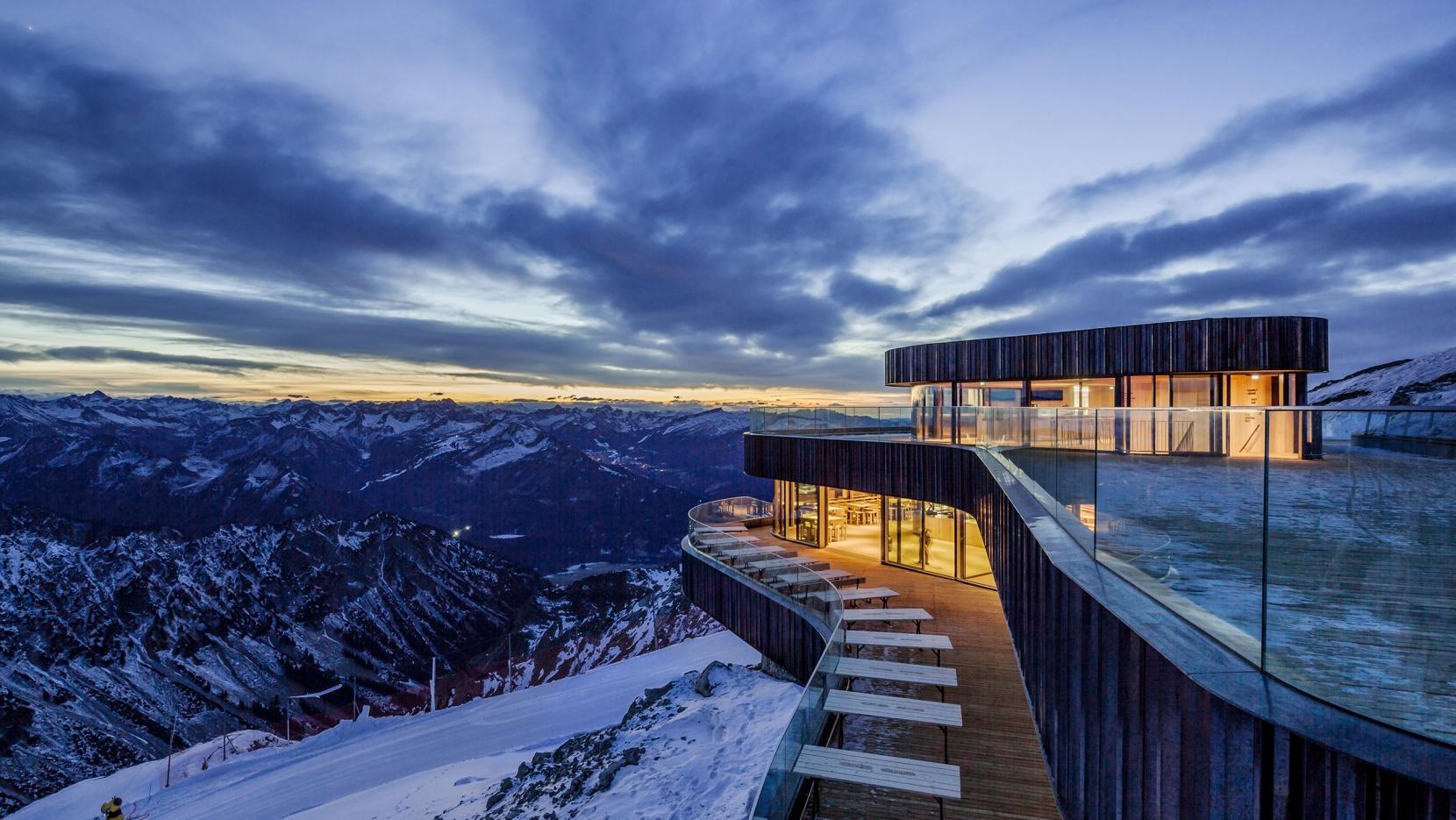 A Bavarian Restaurant Located on the Nebelhorn Summit w Grand Views_1
