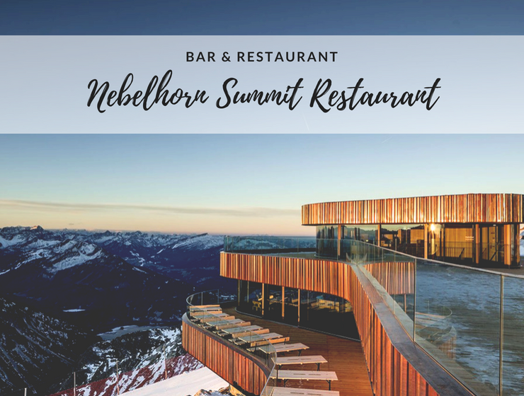 A Bavarian Restaurant Located on the Nebelhorn Summit w Grand Views_1