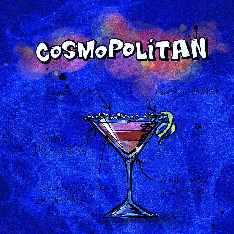7 Classic Cocktail Recipes that'll Glam Up Your Summer cosmopolitan
