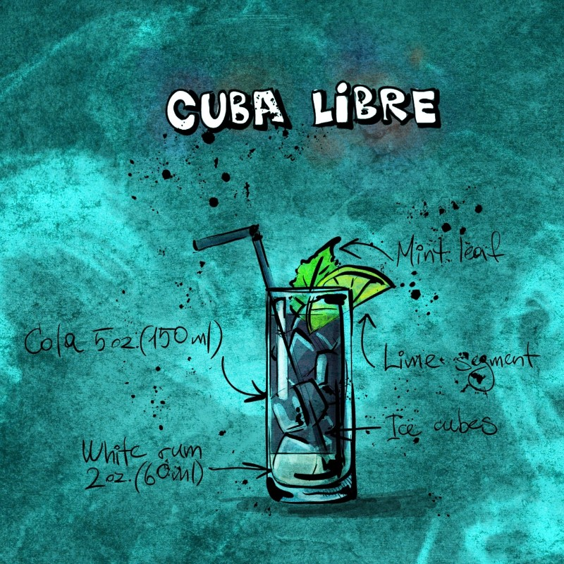 7 Classic Cocktail Recipes that'll Glam Up Your Summer cuba libre