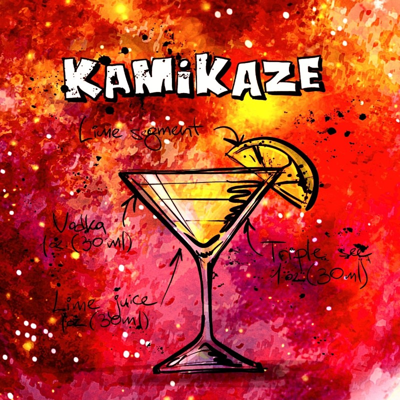 7 Classic Cocktail Recipes that'll Glam Up Your Summer kamikaze