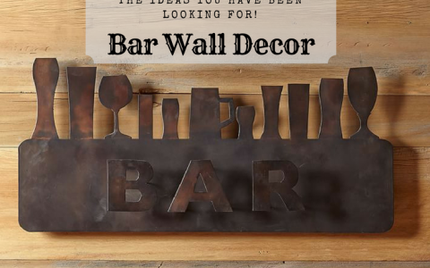 bar wall decor