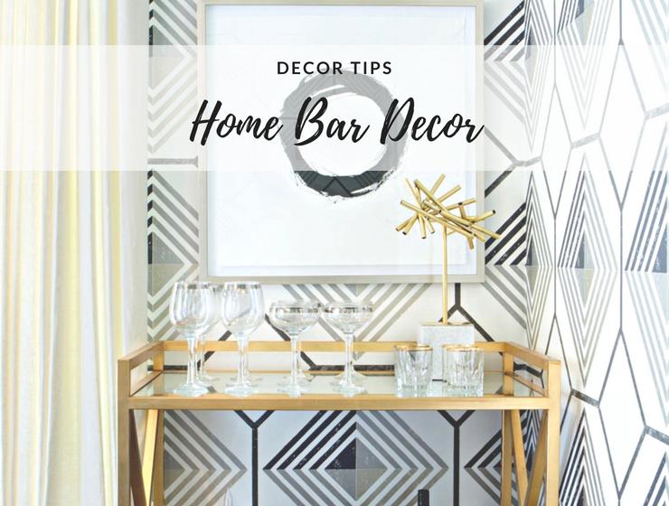 Home Bar Decor: Turn Your Boring Living Room Corner Around!