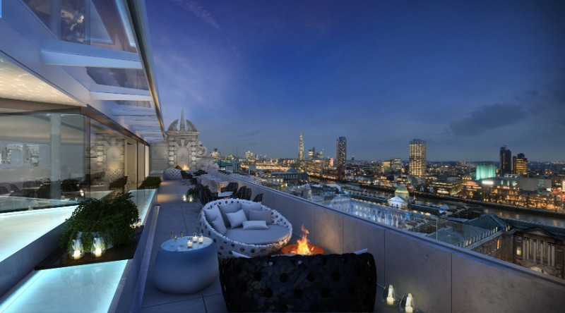 Rooftop Bars in London that Will Blow Your Mind! radio 2