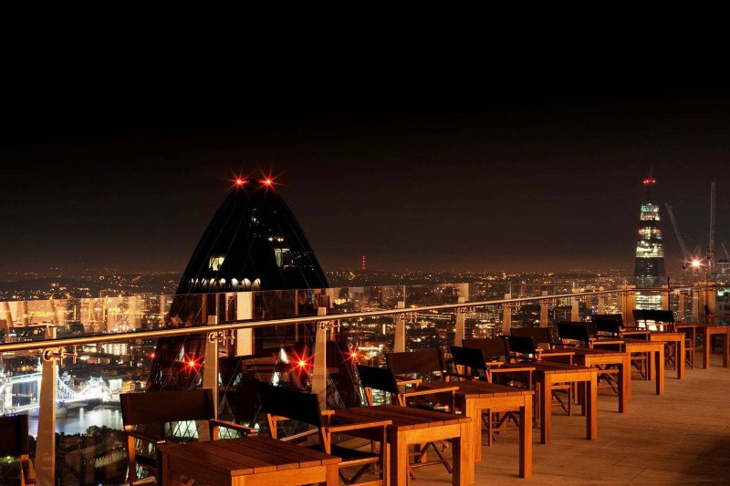 Rooftop Bars in London that Will Blow Your Mind! sushisamba 1