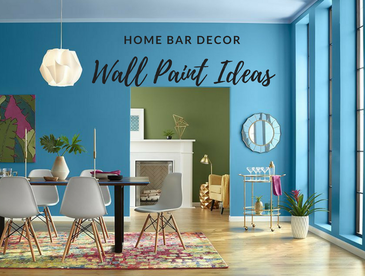 The Wall Painting Colors You Had Never Considered For Your Home Bar. U201c
