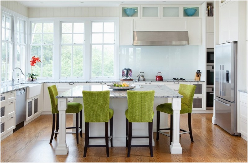 Green Inspiration with our Favorite Green Bar Stools