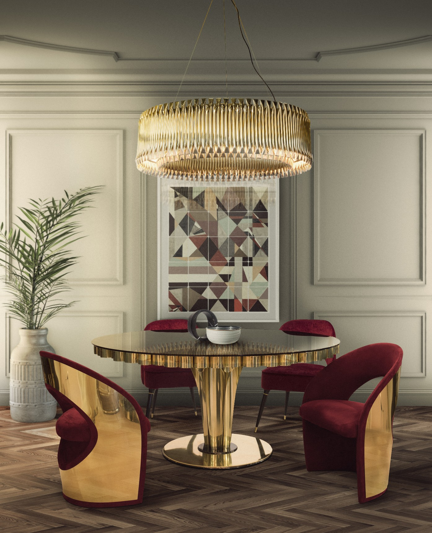 Missoni Home Dining Chair Miss: Modern Dining Room Chairs You Don't Want To Miss Out On