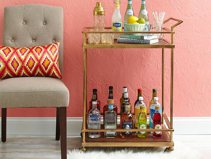 bar cart, home bar accessories, bar wall decor, home bar decor, home bar decor ideas, home bar, vintage bar