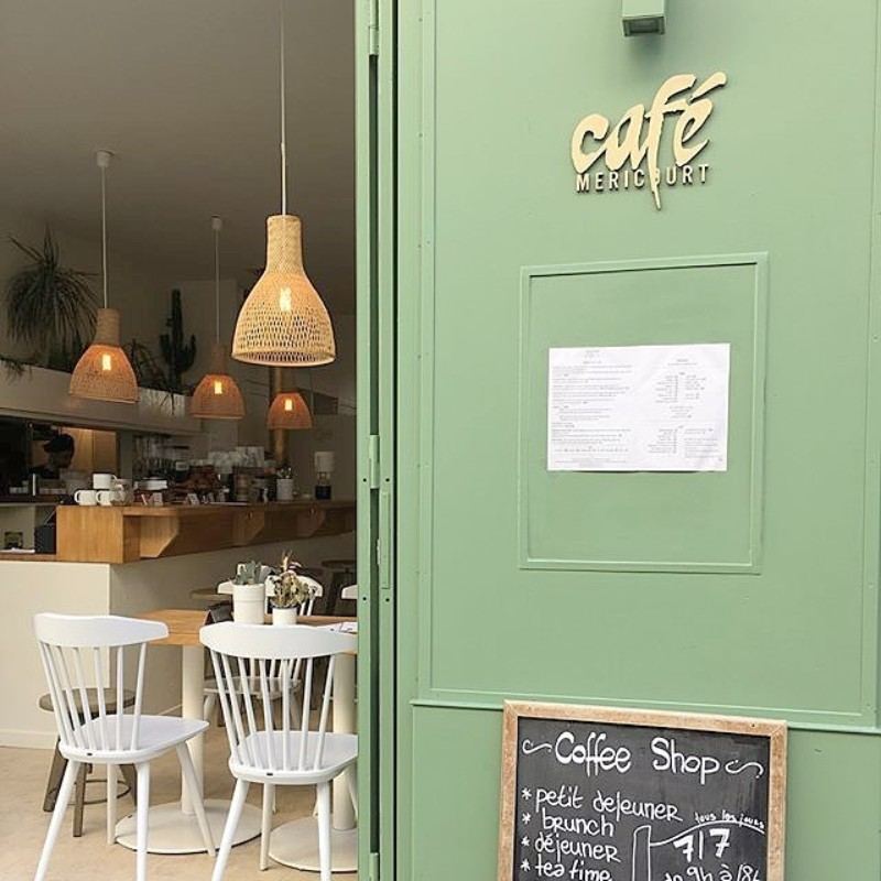 Cafés In Paris That You'll Be Swooning Over Before Maison et Objet