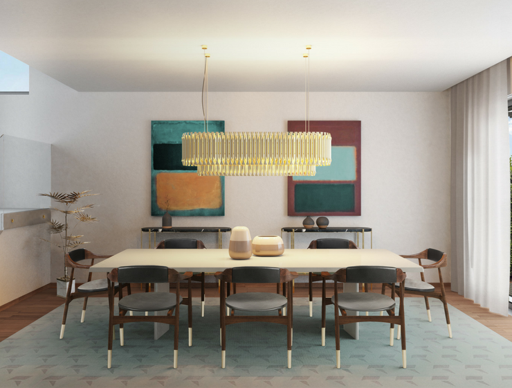 Dining Room Palette: Earthy Tones Never Go Out Of Fashion!