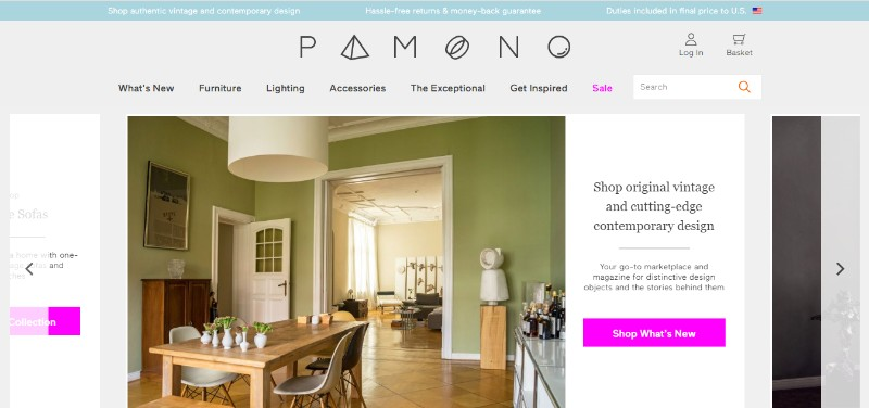 Pamono: A One-Of-A-Kind Marketplace To Find Amazing Design