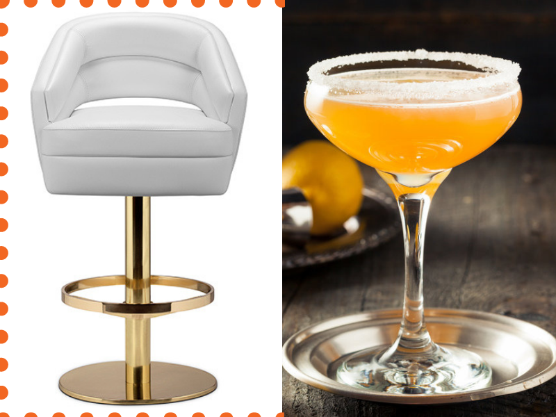 essential bar chairs, bar decor ideas, vintage bar, modern bar chairs, bar decor, bar design ideas