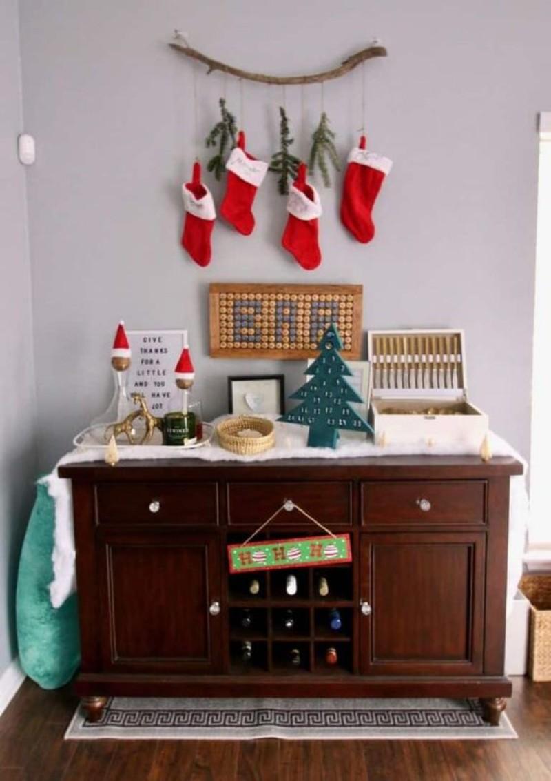 Jingle Bells! It's Time For Christmas Bar Decor!
