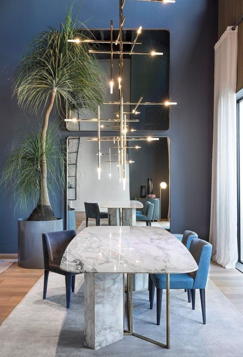 Blue Dining Room Designs To Bring Peace Into Your Decor