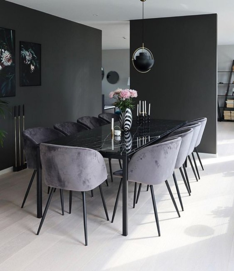 20 Modern Dining Room Design Ideas