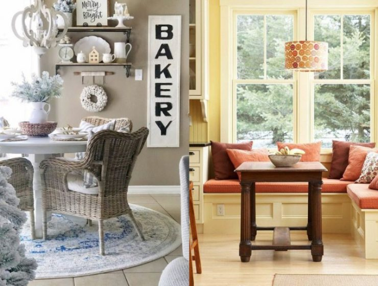 5 Breakfast Nook Interior Design Ideas Styled For The Winter