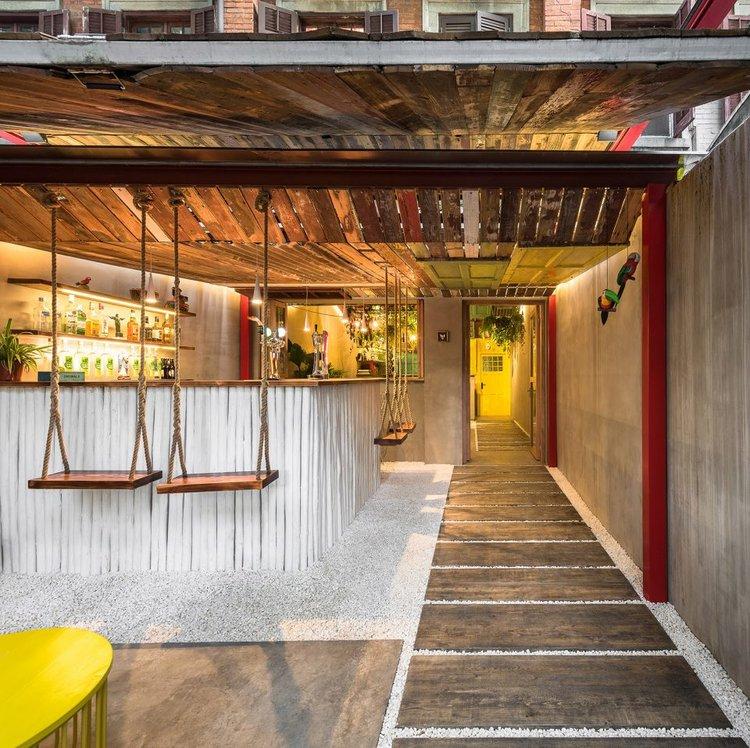 How To Bring Tropical Inspiration Into Incredible Bar Interior Design!