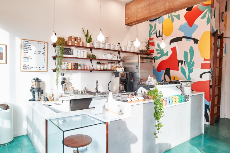 Never Coffee In Portland Is An Aesthetic Dream Of Modern Design