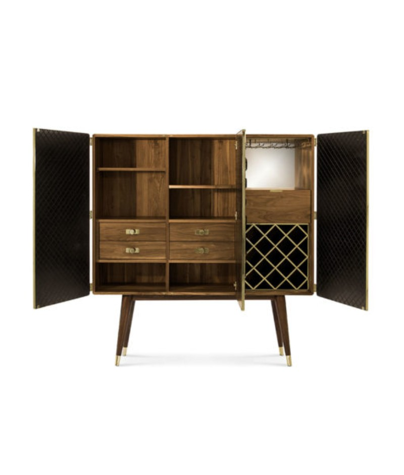 These Are The Modern Cabinets You Need For Your Home Bar Right Now