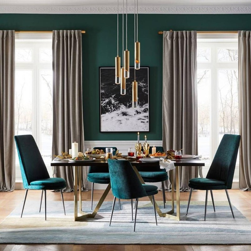 Forest Green Dining Room Designs That Bring Out Your Wild Side