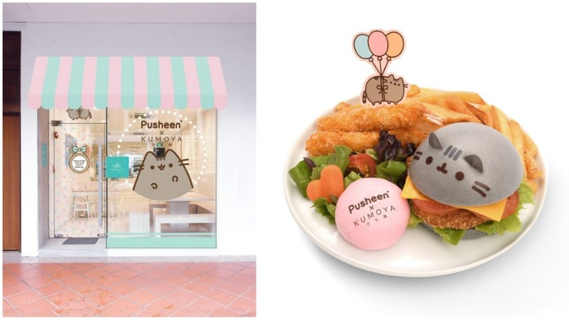 A Cat Lover's Dream The Incredible Pusheen Cafe In Singapore