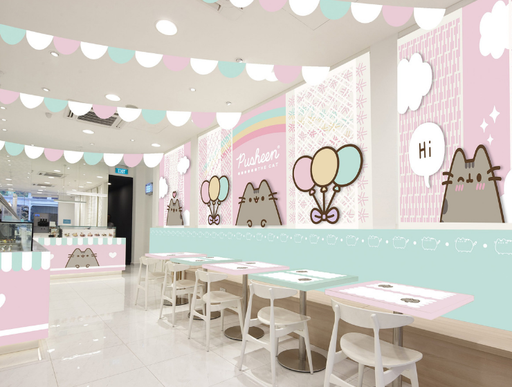 A Cat Lover's Dream: The Incredible Pusheen Cafe In Singapore